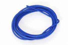 Cable 1mm. azul siliconado