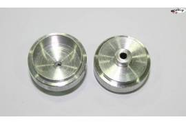 Aluminium rims 20,9x9 mm.