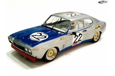 Ford Capri 2600 RS Chrono 1º 24 h. Spa 1971