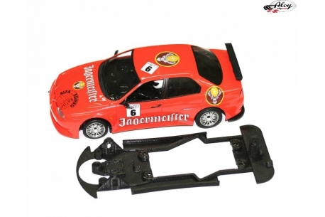 Chasis 3DP EVO para Alfa 156 GTA Fly bancada Slot.It