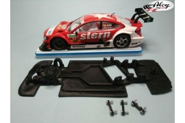 Chasis angular Black 3DP Audi A5 DTM Scalextric