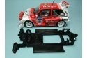 Chasis lineal black MG Metro MSC/Scaleauto