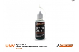 Aceite Speed Oil 2 color Rojo
