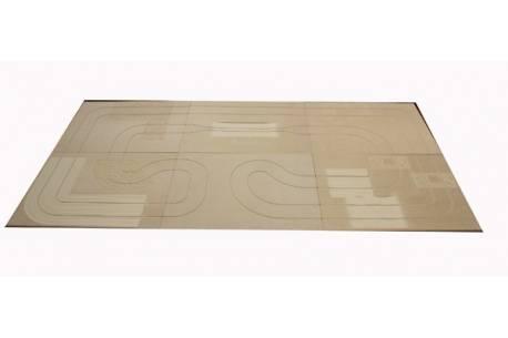Circuito raid en KIT 300 x 150 x 1,50 cms (material DM)