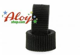 Tire rubber 24x12mm RT-Soft striped special dirty with type cut needle