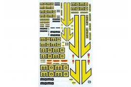 Decal Virages Momo 1/24 - 1/32