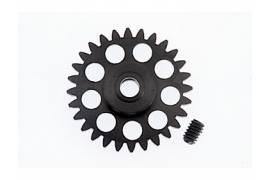 Corona  de Ergal sidewinder 28 dientes. 15.5 mm