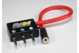 Conector compacto macho con cable silicona y jack stéreo 3mm