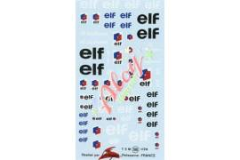 Decal  Elf 1/24