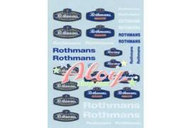 Calca Rothmans 1/43