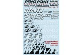 Calca Assistant Gitanes 1/24-1/32 - 1/43