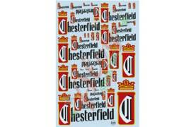 Decal  Chesterfield 1/24-1/32 - 1/43