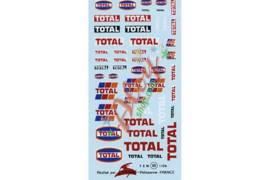 Decal Virages Total 1/24