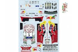 Decal CRP 1/32 Citroen DS3 Mexico 2011 S.loeb