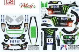 Calca CRP 1/24 Fiesta WRC  21 mexico 2012