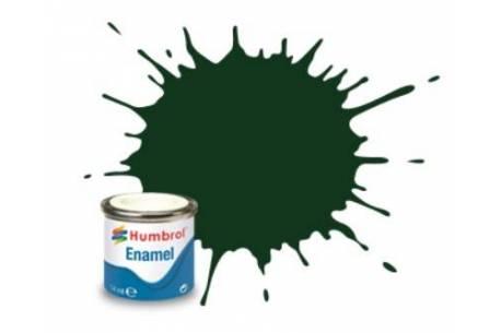 Boat paint Dark Green Satin 14ml (195)