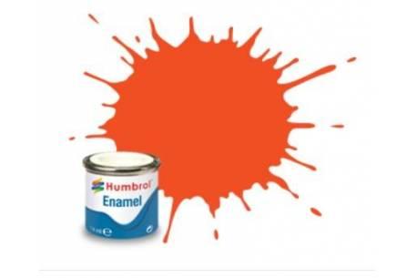 Boat paint Orange Clear 14ml (1322)