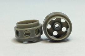 Delrin 14.5 x 9.0 mm - grey wheels