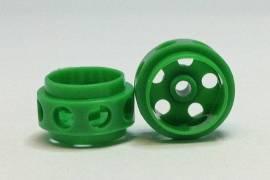 Wheels Delrin 14.5 x 9.0 mm - Green