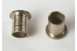 Aluminum guide fastening bushing