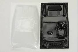 Lightweight lexan Interior more crystals for Lancia Beta Montecarlo