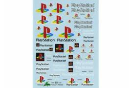 Decal Playstation 1/43