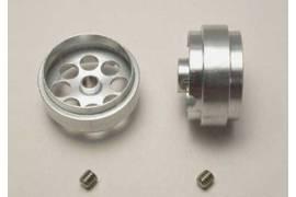 Aluminum 20 rims 5x10mm.Axis 3mm (x 2) alig.