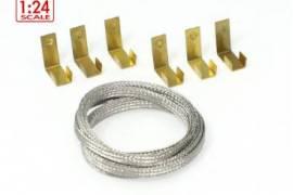 Clips Guide + 1m. Superfine braid