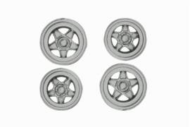 Hubcaps Silver F512BB