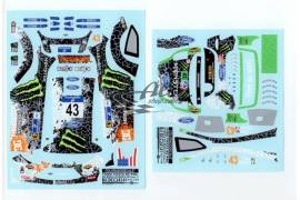 Decals CRP scale 1:24 Ford Fiesta Block