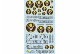 Decals Jägermeister 1/24 - 1/18