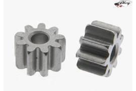 Pinion 9 teeth M50 steel for 2mm shaft