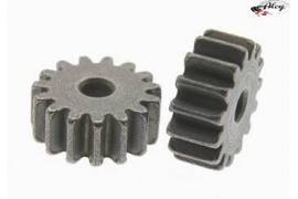 Sprocket 15 d. M50 steel for 2mm shaft
