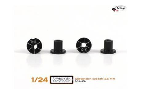 Casquillos sujección H 3.5mm Aluminio Non concentric.