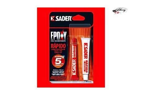 Cola Sader Epoxy Control ultra resistente