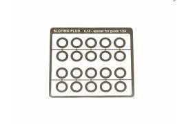 Separadores 0,1 mm para guía 1/32