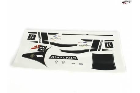 Set calcas GT3 Italia White nº 17