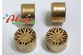 F-1 gold 14 x 12 mm.(x 4)