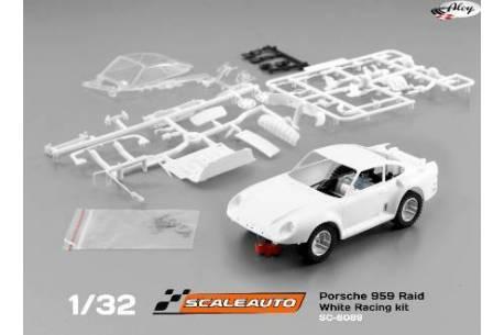 Porsche 959 Raid White Racing Kit