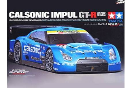 Calsonic Impul GT - R  R35  1:24
