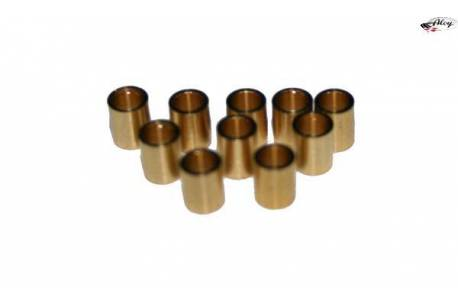 Axle spacers 3/32 brass