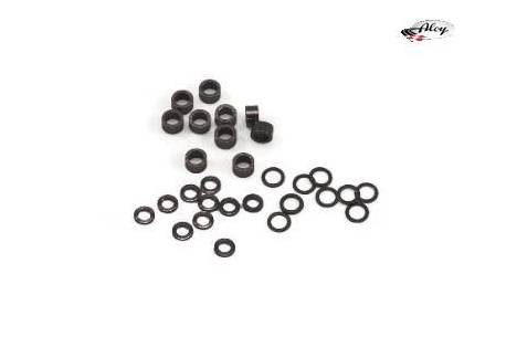 """Axle spacers in differents sizes for 3/32"""" axles"""