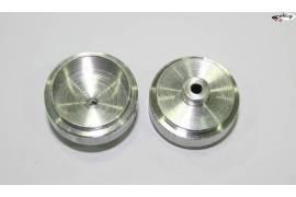 Aluminium rims 20,9x9 mm.