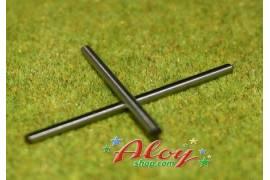 Shaft steel 52mm 3/32 (x 2)