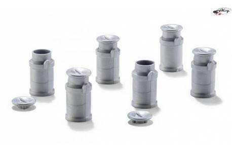 Milk Can (x6) Scale 1:32