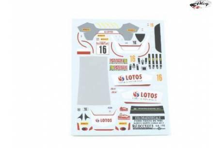 Decals 1/32 Ford Fiesta WRC Lotos