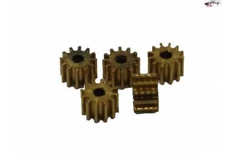 brass pinion 12z (x5)