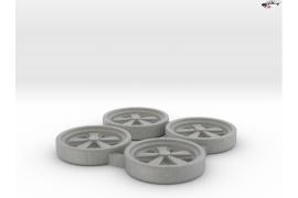 Lancia 037 wheel inserts