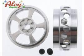 DAKAR rally/raid 18.5 x 11.00 mm aluminum rim 1/24