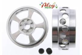 Llanta aluminio DAKAR para rally/raid 20.1 x 11.00 mm para 1/24